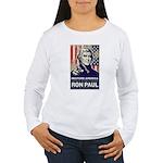 Ron Paul 2012 Women's Long Sleeve T-Shirt