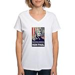 Ron Paul 2012 Women's V-Neck T-Shirt