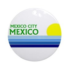 Cute Cozumel Ornament (Round)