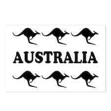Kangaroos Australia Postcards (Package of 8)