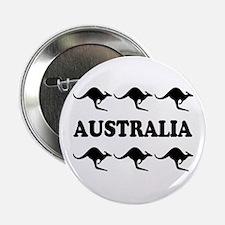 Kangaroos Australia Button/Badge
