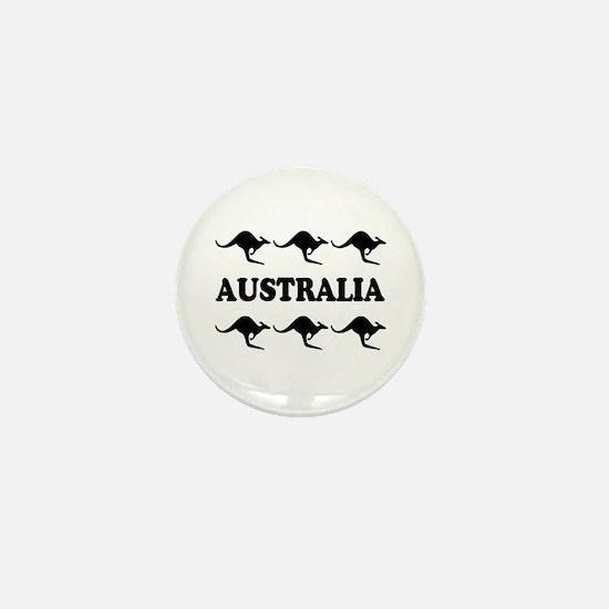 Kangaroos Australia Mini Button/Badge
