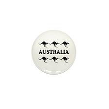 Kangaroos Australia Mini Button (10 pack)