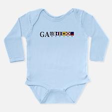 GA native Long Sleeve Infant Bodysuit