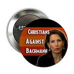 Christians Against Bachmann campaign button