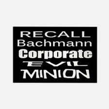 Recall Michele Bachmann Rectangle Magnet