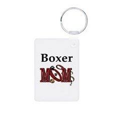 Boxer Dog Mom Gifts Keychains