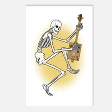 CBG Playing Skeleton Postcards (Package of 8)