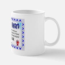 Insanity Award Mug