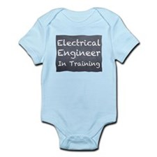 Funny The electric company Infant Bodysuit