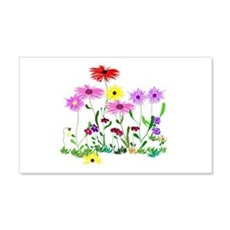 Flower Bunch Wall Sticker