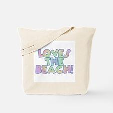Loves the Beach Tote Bag