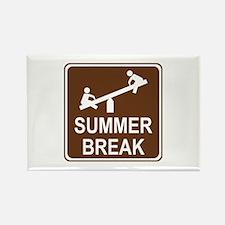Summer Break Rectangle Magnet (10 pack)