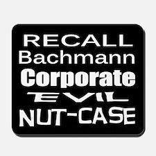 Recall Michele Bachmann Mousepad