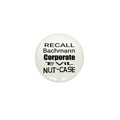 Recall Michele Bachmann Mini Button