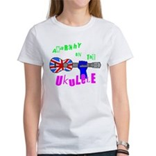 Anarchy on the Ukulele (ladies white)