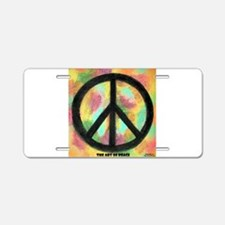 The Art of Peace Original Rainbow Aluminum License