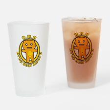 Drop Bear Aware Pint Glass