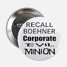 """Recall John Boehner 2.25"""" Button"""