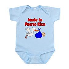 Made In Puerto Rico Boy Infant Bodysuit