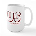 I (Heart) Love Jesus Large Mug