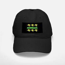 Kangaroos Australia Cap Green & Gold