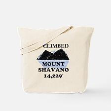I Climbed Mount Shavano Tote Bag