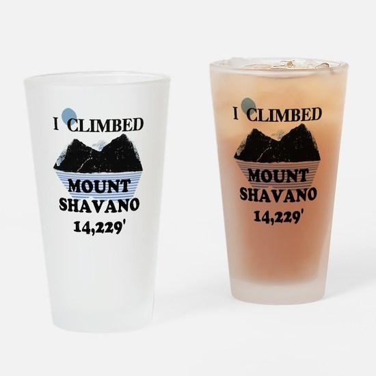 I Climbed Mount Shavano Pint Glass