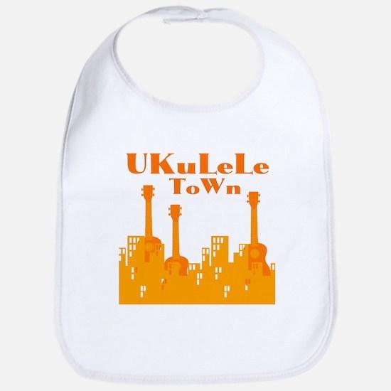 Ukulele Town Bib