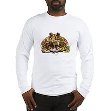 Pac man frog Long Sleeve T-Shirt