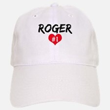 Roger number one Baseball Baseball Cap