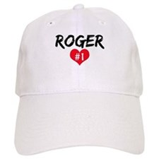 Roger number one Baseball Cap