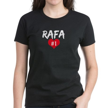 RAFA number one Women's Dark T-Shirt