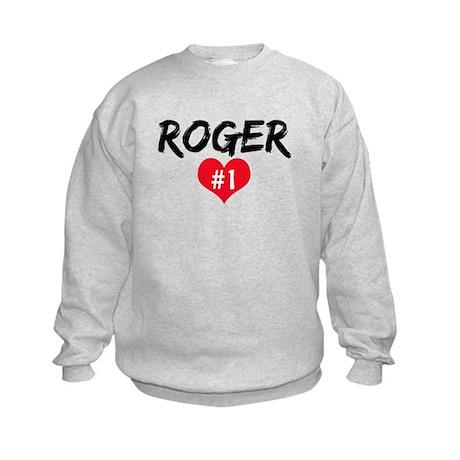 Roger number one Kids Sweatshirt