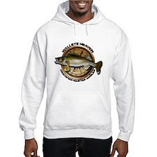 Hooded Walleye Sweatshirt Hoodie
