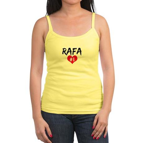RAFA number one Jr. Spaghetti Tank