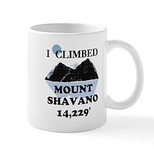 I Climbed Mount Shavano Mug
