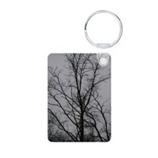 """Gray Sky Morning"" Keychains"