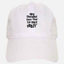 Crazy Therapist Baseball Baseball Cap