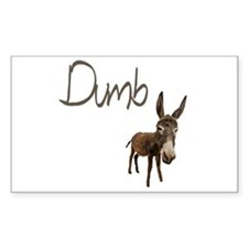 Dumb Donkey Decal