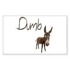 Dumb Donkey Decal