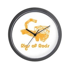 Cute Rod Wall Clock