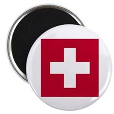 Switzerland Swiss Suisse (CH) Flag - Magnet