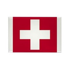 Switzerland Swiss Suisse (CH) Flag - Rectangle Ma