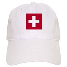 Switzerland Swiss Suisse (CH) Flag - Baseball Cap