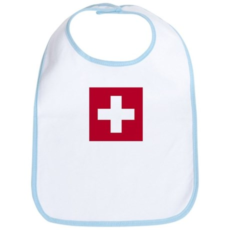 Switzerland Swiss Suisse (CH) Flag - Bib
