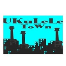 UKuLeLe ToWn Postcards (Package of 8)