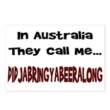 Australian Beer Joke Postcards (Package of 8)