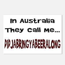 Australian Beer Joke Postcards (Package of 8)