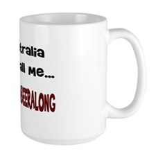 Australian Beer Joke Mug